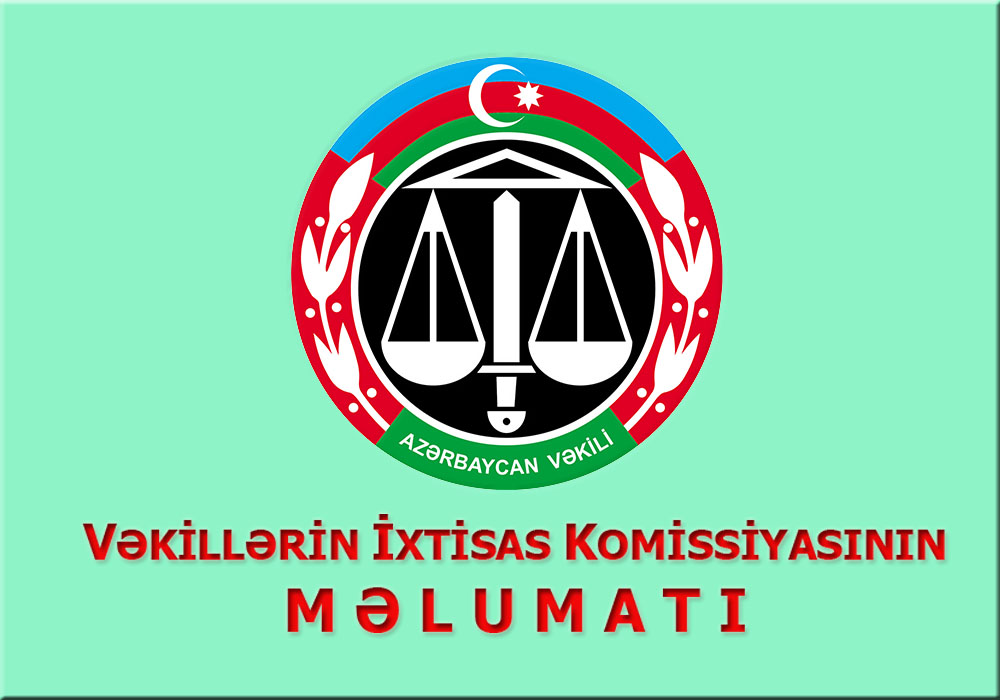 Barassociation Az Azərbaycan Respublikasinin Vəkillər Kollegiyasi